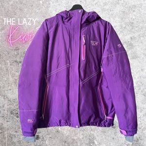 MOUNTAIN HARDWEAR Purple Winter Down Filled Coat L